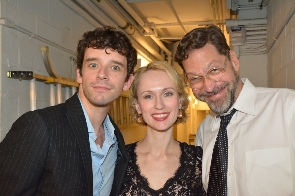Michael Urie, Victoria Mack and David Staller