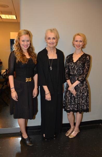 Molly Ranson, Mary Beth Peil and Victoria Mack