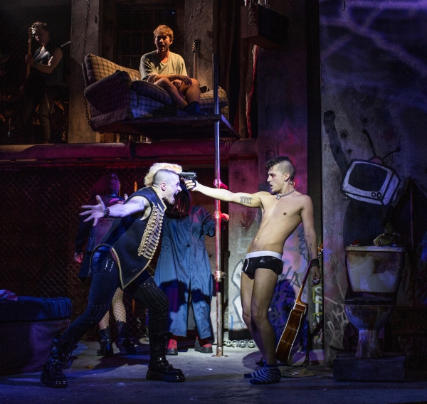 Photos: First Look at Aaron Sidwell, Luke Baker, Amelia Lily and More in West End's AMERICAN IDIOT