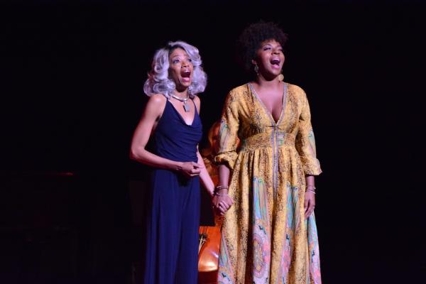Adriane Lenox and Crystal Joy
