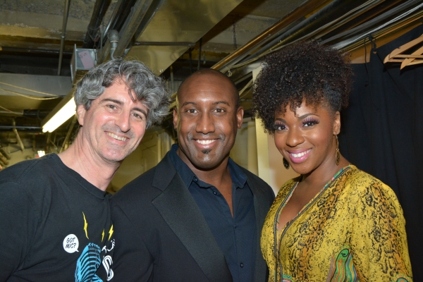 Rick Hinkson, Quentin Earl Darrington and Crystal Joy