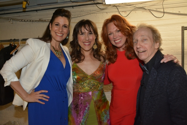 Stephanie J. Block, Farah Alvin, Carolee Carmello and Scott Siegel