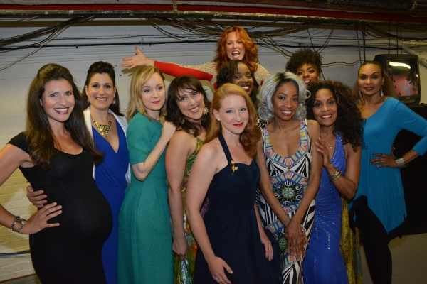 Jenny Powers, Stephanie J. Block, Erin Davie, Molly Pope, Carolee Carmello, Adriane Lenox, Crystal Joy, Cheryl Freeman and Vivian Reed
