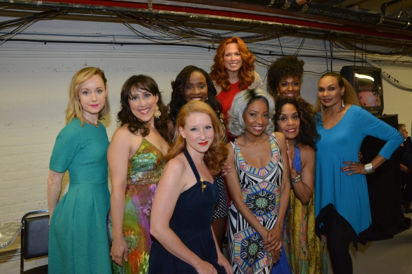 Erin Davie, Farah Alvin, Carolee Carmello, Crystal Joy, Vivian Reed, Molly Pope, Adriane Lenox and Cheryl Freeman