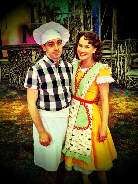 Rob McClure and Erin Dilly