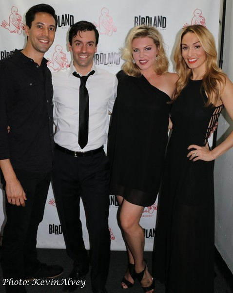 Andy Blanco, Clyde Alves, Robyn Hurder and Rebecca Riker