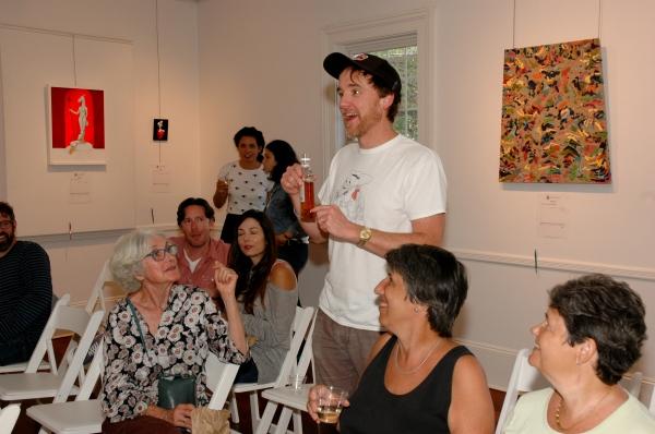 Photo Flash: Invisible Familiars, Monica Bill Barnes & More Celebrate Accabonac House