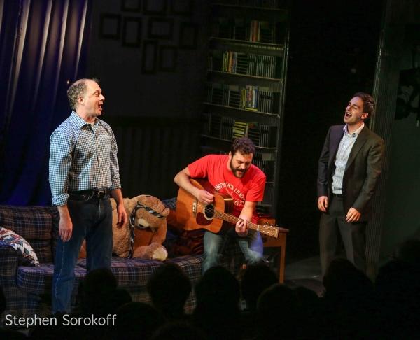 Daniel Jenkins, Van Hughes, Michael Tacconi