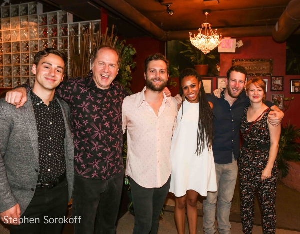 Michael Tacconi, Daniel Jenkins, Van Hughes, Nicolette Robinson, Nick Blaemire, Emily Photo
