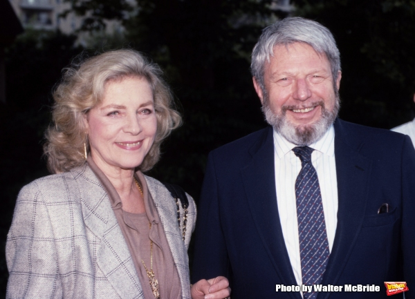 Lauren Bacall and Theodore Bikel
