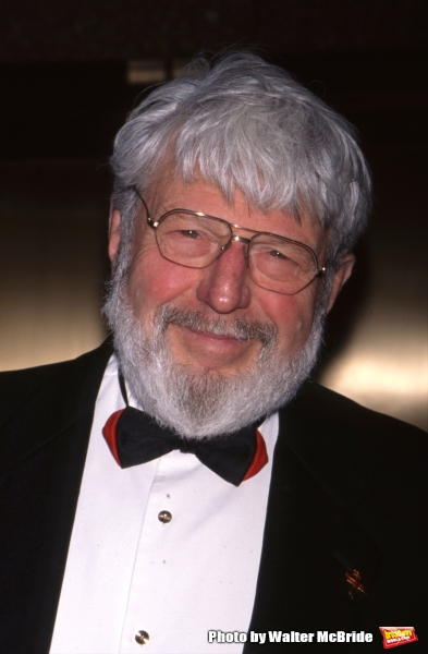 Theodore Bikel attends the Tony Awards at Radio City Music Hall on June 4, 2000 in Ne Photo