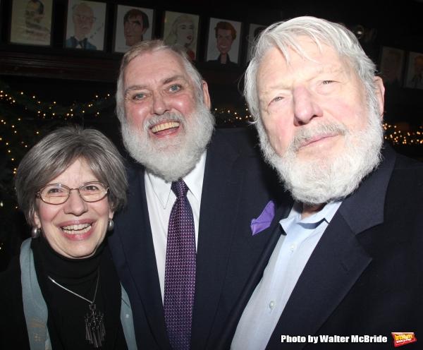 Jim Brochu & Theodore Bikel & Mrs. Theodore Bikel