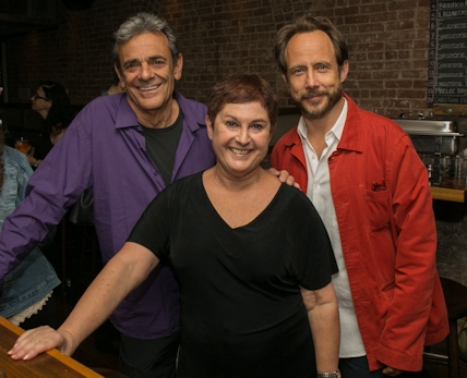 Richard Romagnoli, Cheryl Faraone and Alex Draper