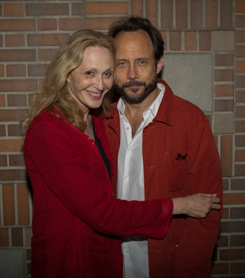 Jan Maxwell and Alex Draper