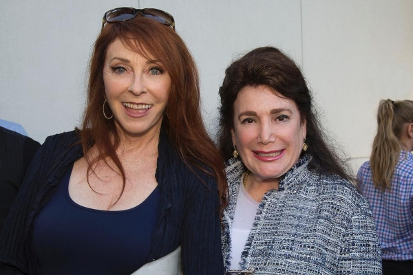 Cassandra Peterson and Donelle Dadigan