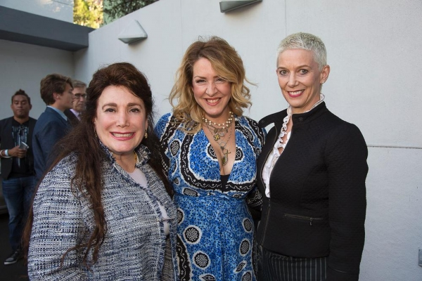 Donelle Dadigan, Joely Fisher and Patricia Ward Kelly