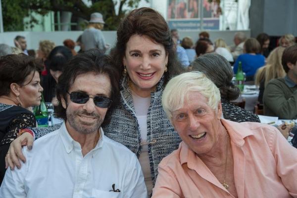 George Chakiris, Donelle Dadigan and Greg Schreiner