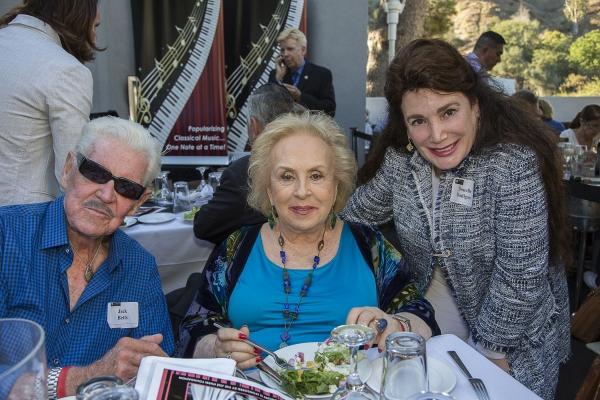 Jack Betts, Doris Roberts and Donelle Dadigan