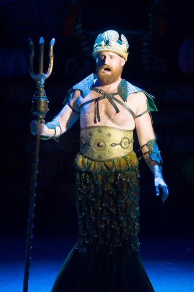 Joseph Torello as King Triton Photo