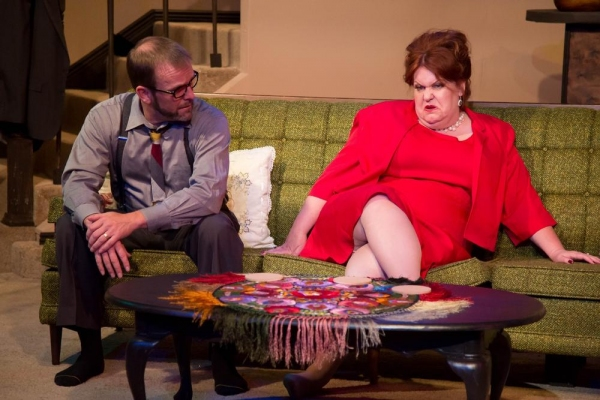 Scott Bellot as George, Emma Messenger as Martha