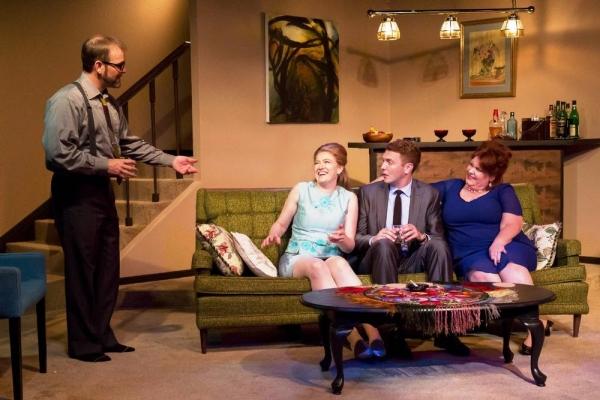 Scott Bellot as George, Maggy Stacy as Honey, James O''hagan-Murphy as Nick, Emma Messenger as Martha