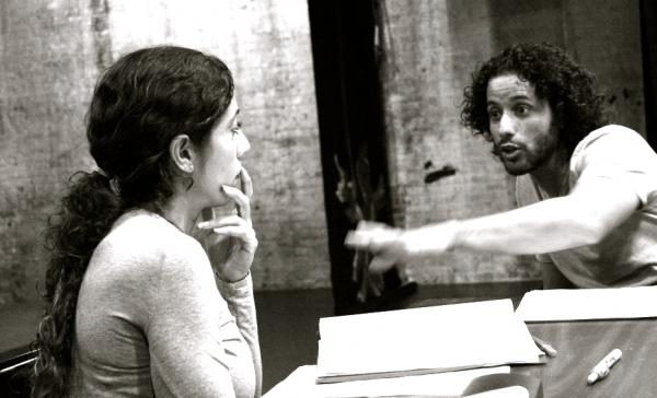 Luis Salgado and Emmanuelle Bordas