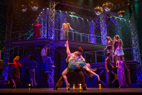 Photo Flash: First Look at Sam Edgerly, Jessica Lea Patty, & More in Finger Lakes Music Theatre Festival's SATURDAY NIGHT FEVER