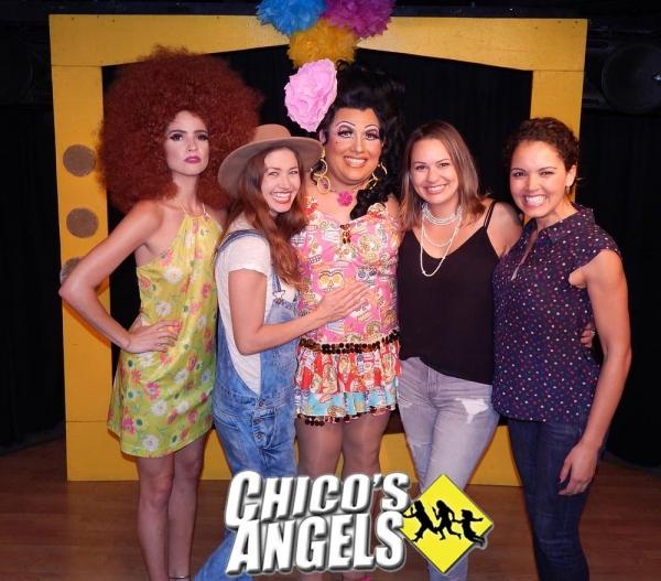 Shelley Hennig (Miss Teen 2004) **as her character in the show, Cinnamon**, Tami Farrell (Miss Teen USA 2003), Kay Sedia, Keylee Sanders (Miss Teen USA 1995), Susie Castillo (Miss USA 2003)