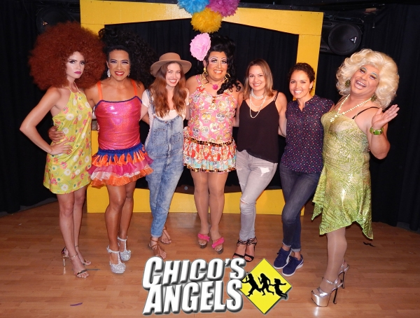 Shelley Hennig (Miss Teen 2004) **as her character in the show, Cinnamon**, Chita Parol,  Tami Farrell (Miss Teen USA 2003), Kay Sedia, Keylee  Sanders (Miss Teen USA 1995), Susie Castillo (Miss USA 2003)  & Frieda Laye