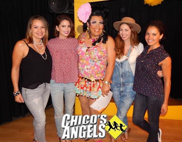 Keylee Sanders (Miss Teen USA 1995), Shelley Hennig (Miss Teen 2004), Kay Sedia, Tami Farrell (Miss Teen USA 2003), Susie Castillo (Miss USA 2003)