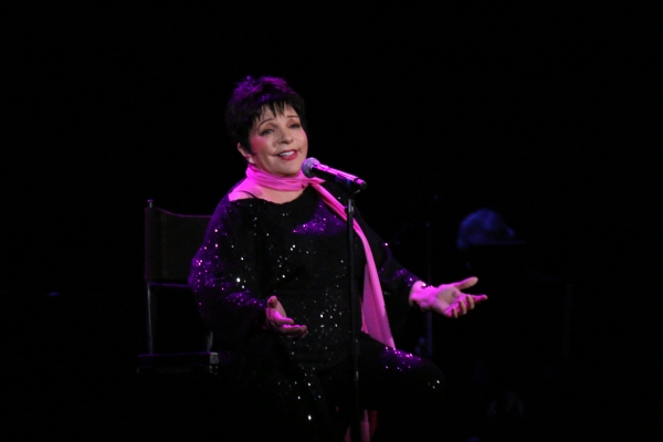Photo Coverage: Liza's Back! Minnelli Performs First Concert in More Than a Year