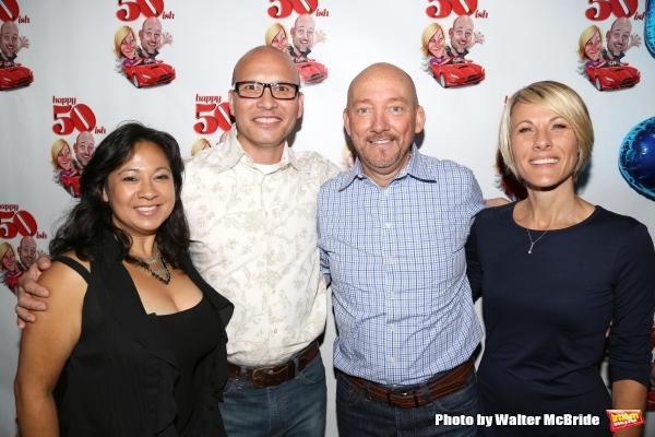 Owen Johnston, Bridget Johnston, Lynn Shore and Teresa Shourds