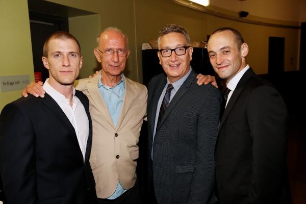 Patrick Heusinger, Martin Sherman, Moises Kaufman, Charlie Hofheimer Photo