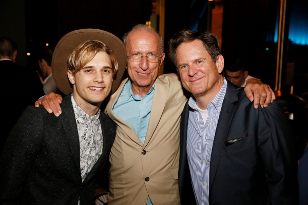 Andy Mientus, Martin Sherman, David Marshall Grant Photo