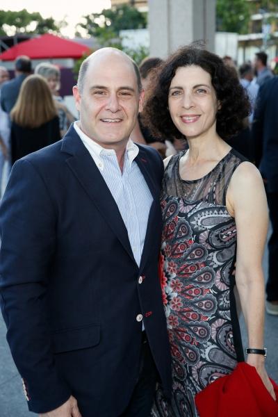 Matthew Weiner, Linda Brettler Photo