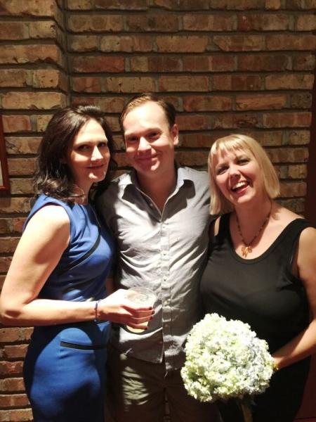 Stacy Stoltz (Emma), Nate Whelden (Con) and Katy Carolina Collins (Mash)