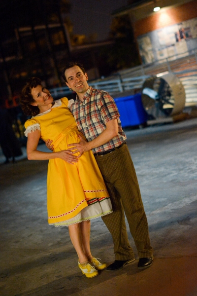 Erin Dilly and Rob McClure