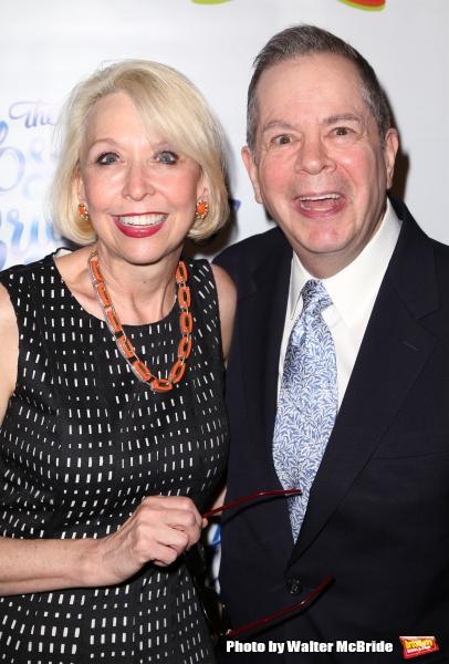 Julie Halston and Peter Bartlett