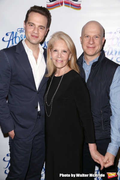 Jordan Roth, Daryl Roth and Richie Jackson