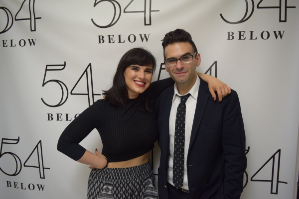 Molly Hager and Joe Iconis