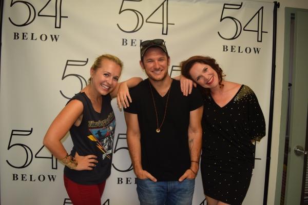Julia Mattison, Drew Gasparini, and Grace McLean