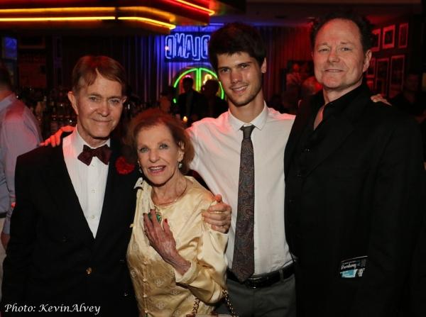 Steve Ross, Joan Copeland, Jesse Bielenberg and Walter Willison