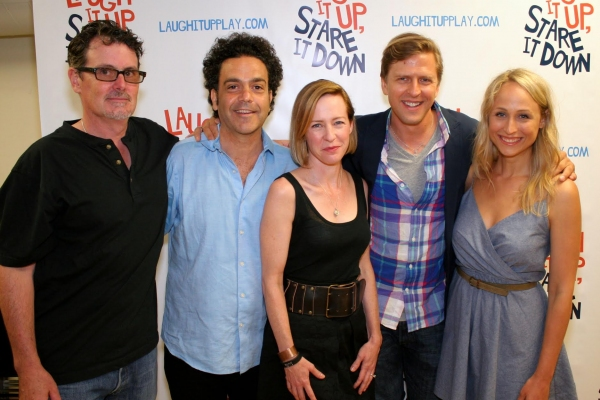 Photo Flash: In Rehearsal with the Cast of Off-Broadway's LAUGH IT UP STARE IT DOWN