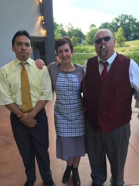 Daniel Bachelis, Jenna Kellie Pittman, David Francis Kiley Photo