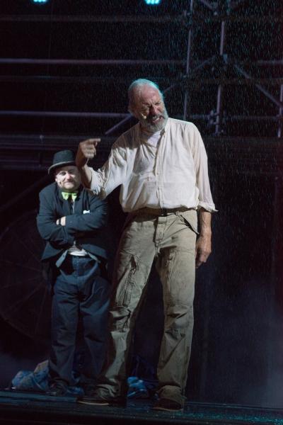 Fool (BranDon Whitehead) and King Lear (Will Lyman)