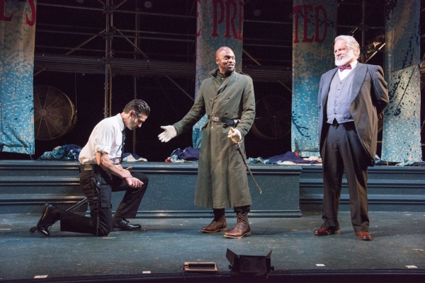 Photos: First Look at Will Lyman in Commonwealth Shakespeare's KING LEAR, Opening Tonight