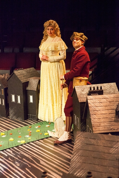 Liz Wisan as Beryl Stapleton and Blake Segal as Mr. Stapleton Photo
