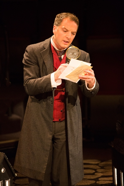 Euan Morton as Sherlock Holmes