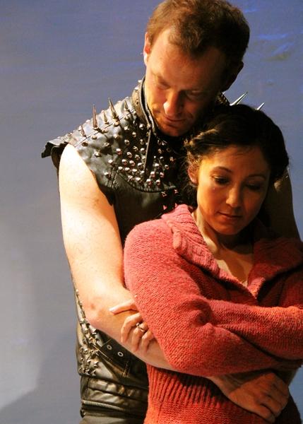 J.B. Waterman as Dragon and Keiko Elizabeth as Woman
