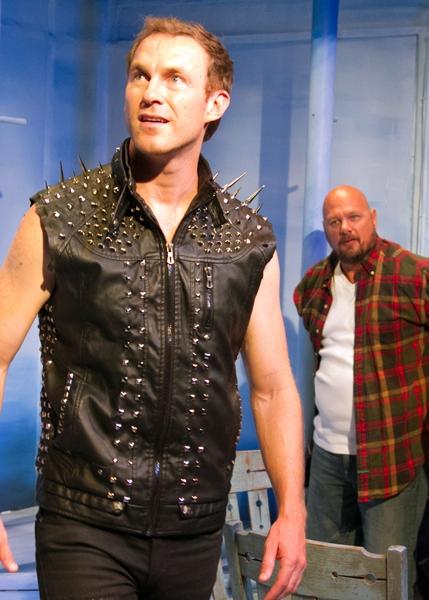 J.B. Waterman as Dragon and John J. Pistone as Man